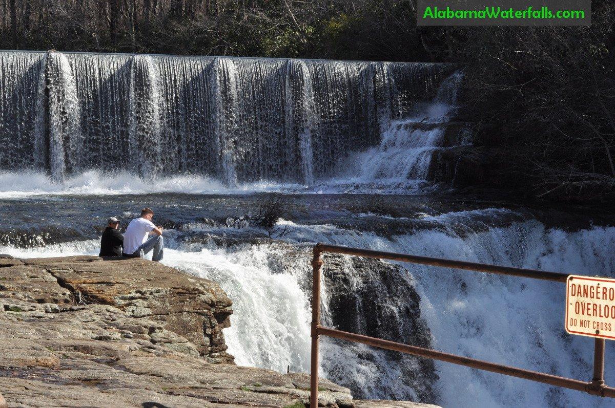 Desoto Falls Alabama Dangerous overlook