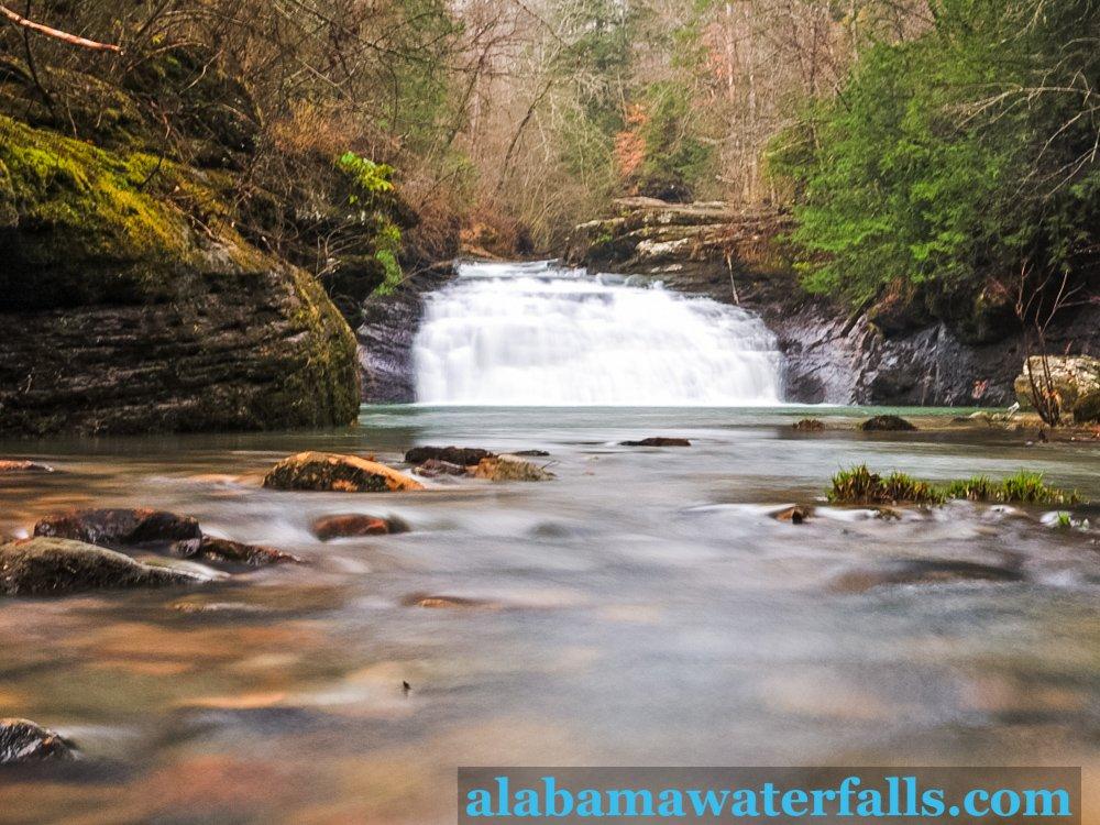 Kinlock Fall downstream Small