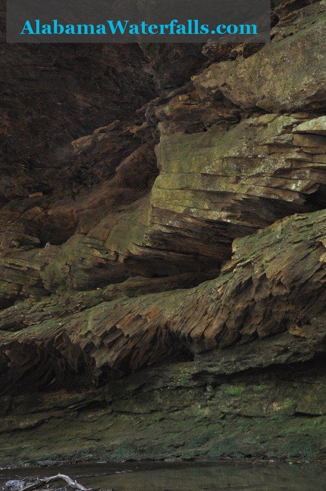 Caney Creek Falls geology