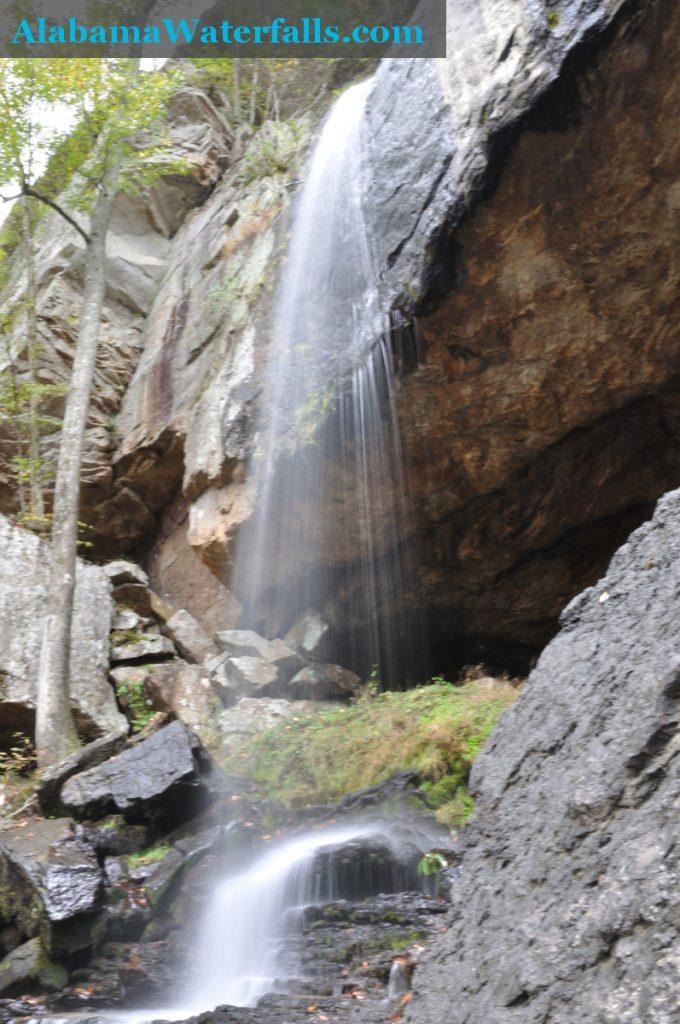 Griffin Falls lower drop side