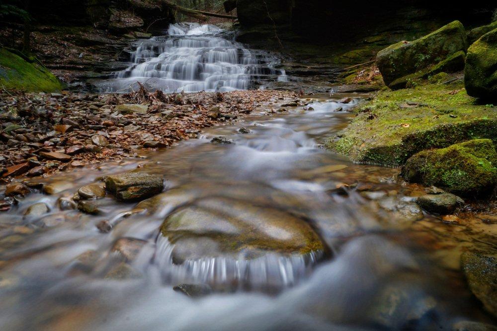 Eagle Creek Falls by Lane Leopard