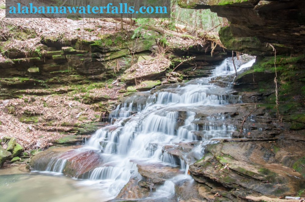 Eagle Creek Falls side