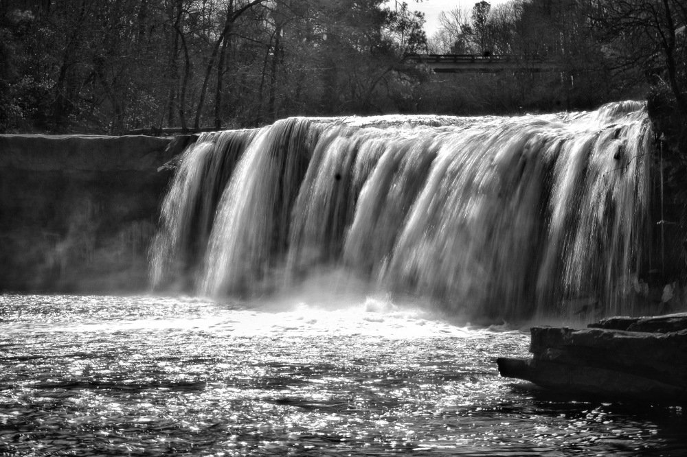Too bad this is on a private property but this is one picturesque falls nonetheless.