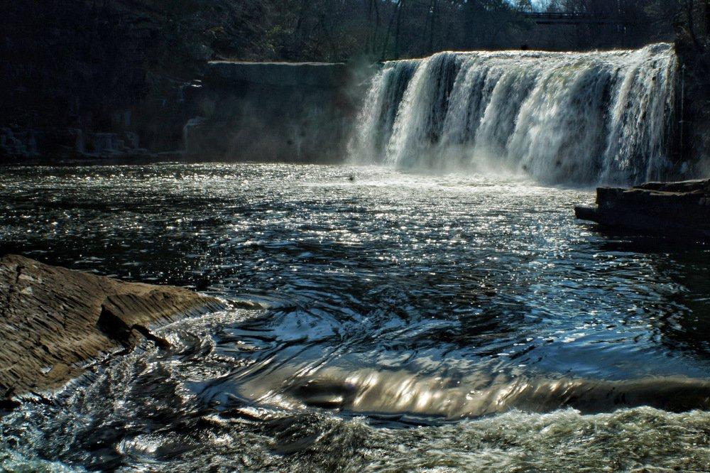 Short Creek Falls near Lake Guntersville, Alabama