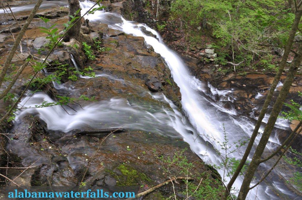 Upper Thompson Falls near Arab, AL