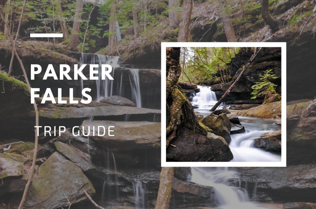 Parker Falls Trip Guide, Sipsey Wilderness Area, Bankhead National Forest, Alabama