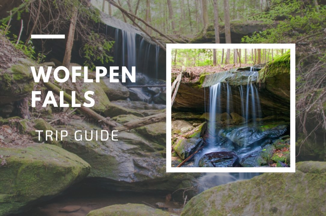Wolfpen Falls Sipsey Wilderness area of Bankhead National Forest