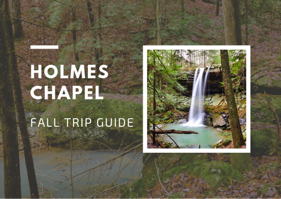 Holmes Chapel Fall in Bankhead National Forest