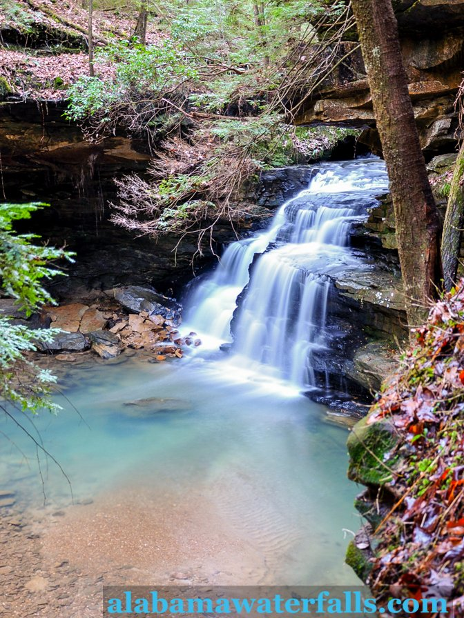 Mize Mill Falls right Sipsey Wilderness Area