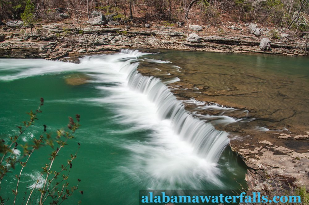 Marthas Falls in the Little River Canyon National Preserve in Alabama