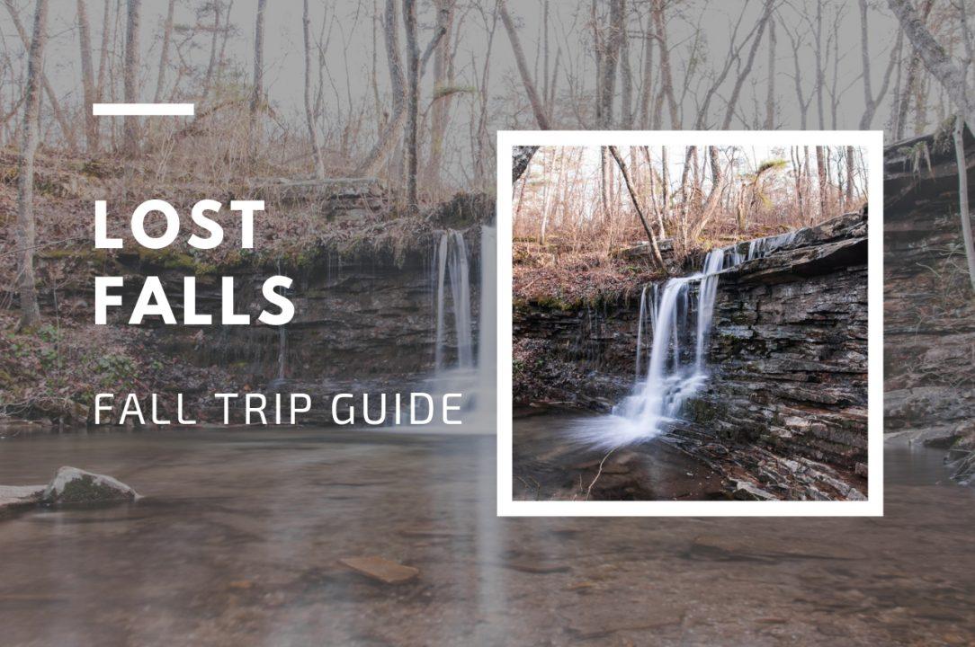Lost Falls, Desoto State Park, trip guide