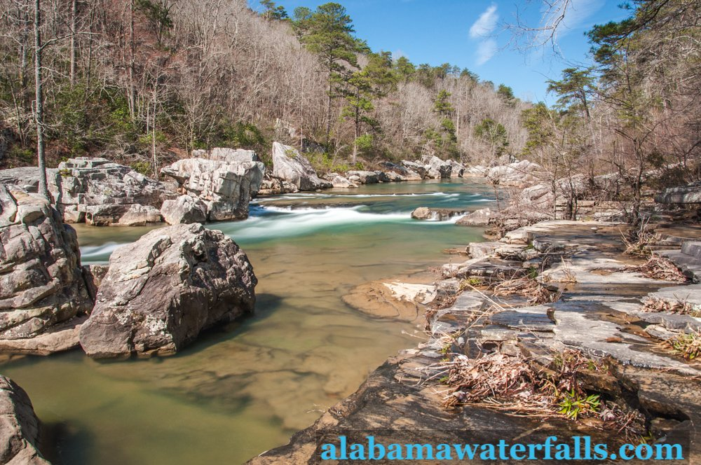 above Little Falls in Little River Canyon