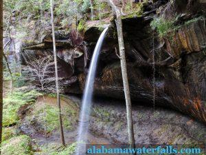 East Bee Branch Waterfall Long Exposure